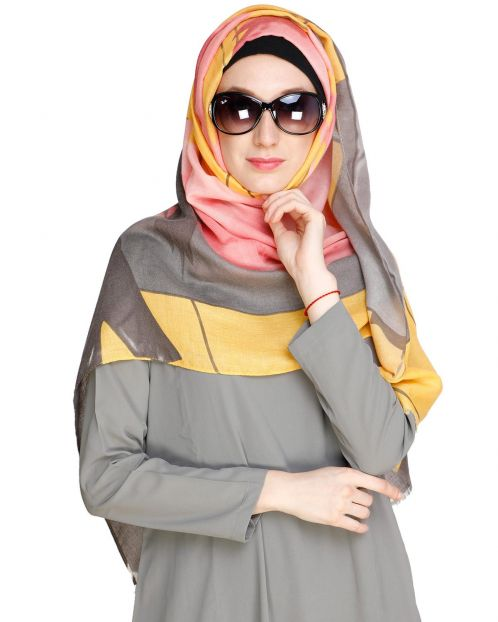 Eye Catching Multicolour Hijab