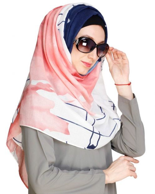 Eye Catching Pink Hijab