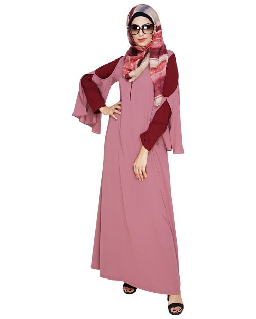 Dora Sleeves Oinion Abaya