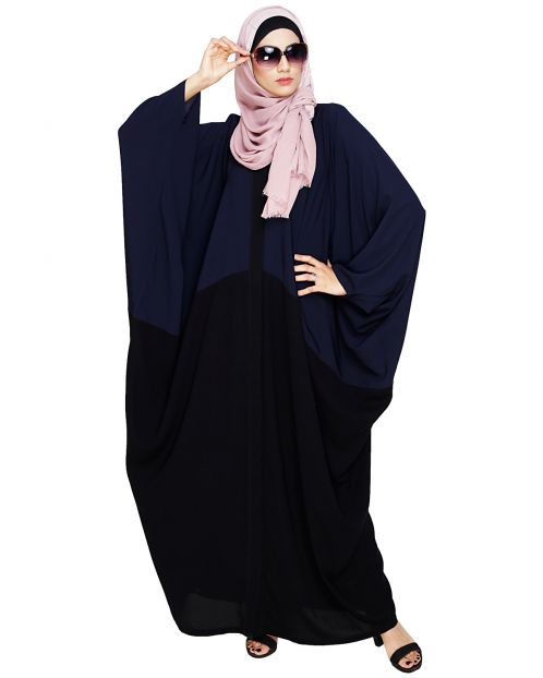 Spiffy Black and Blue Kaftan
