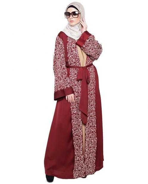 Luxury Wine Dubai Style abaya
