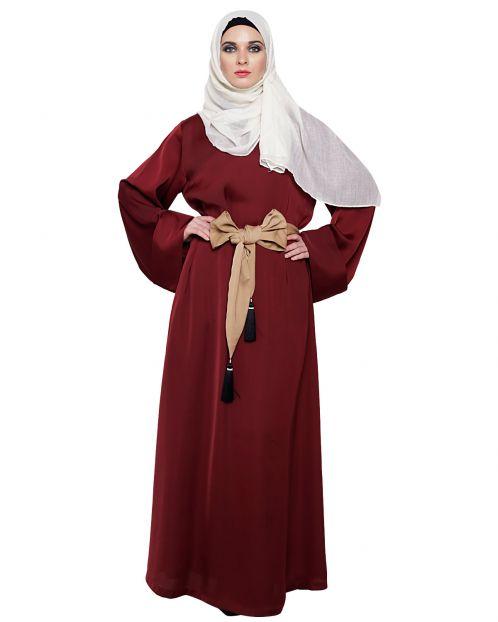 Chic Tasseled Dubai Style Abaya