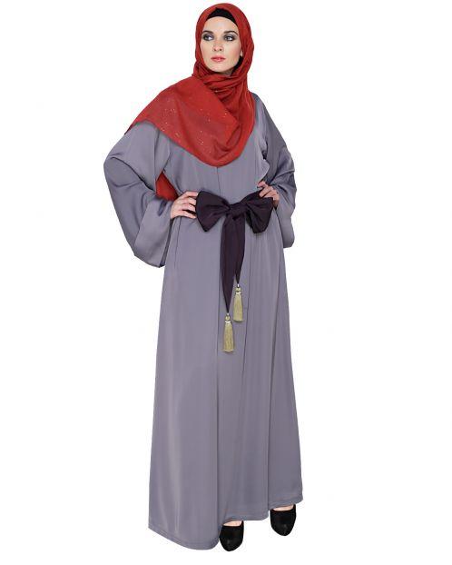 Stylish Tasseled Dubai Style Abaya