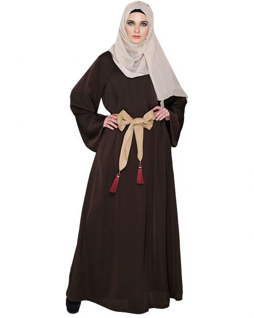 Pretty Tasseled Dubai Style Abaya