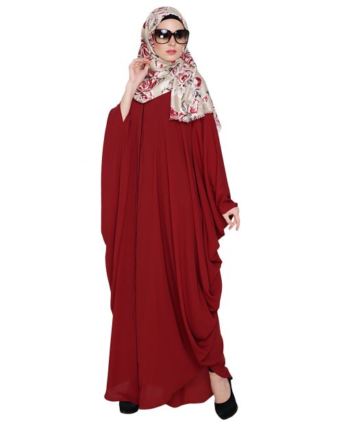 Breezy Wine Kaftan