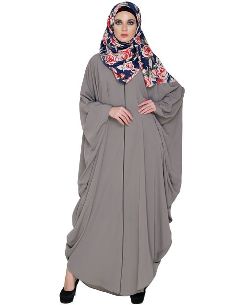 Breezy Grey Kaftan
