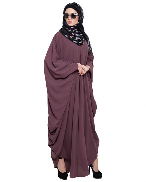 Breezy Raspberry Color Kaftan