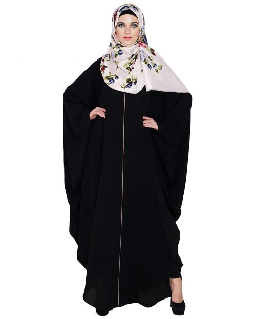 Breezy Black Kaftan