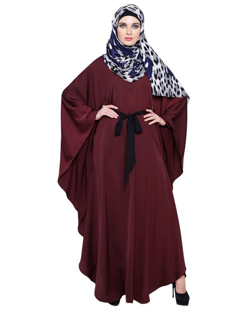 Lavish Wine Kaftan