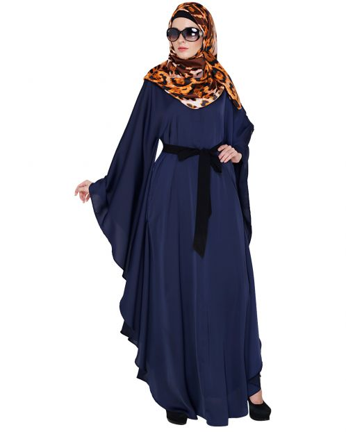 Lavish Midnight Blue Kaftan
