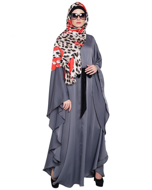 Lavish Gray Kaftan