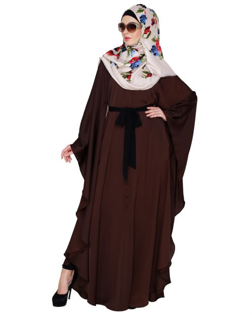 Lavish Dark Brown Kaftan