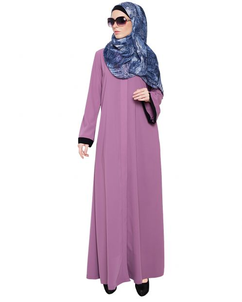 Vintage Lilac Abaya