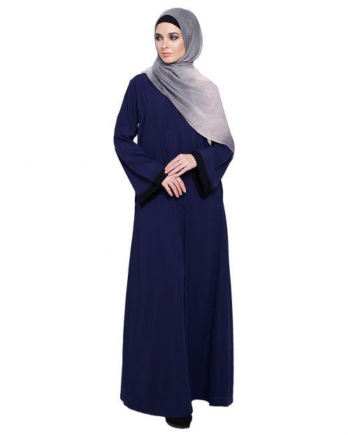 Vintage Blue Abaya