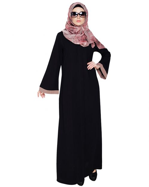Vintage Black Abaya