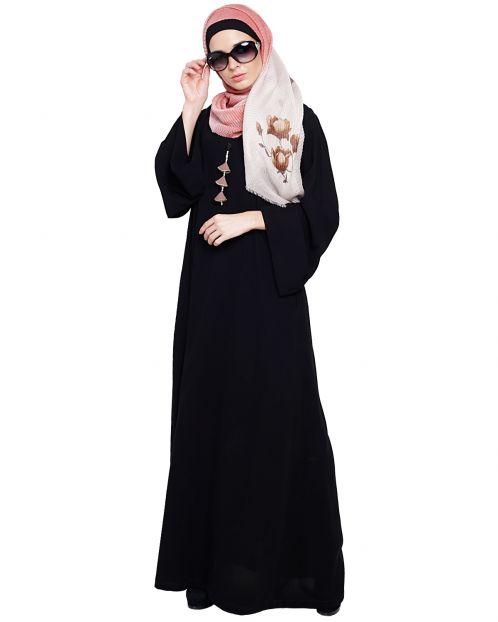 Classy Black Abaya