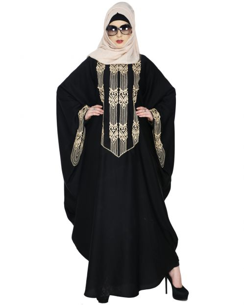 Majestic Black Formal Kaftan