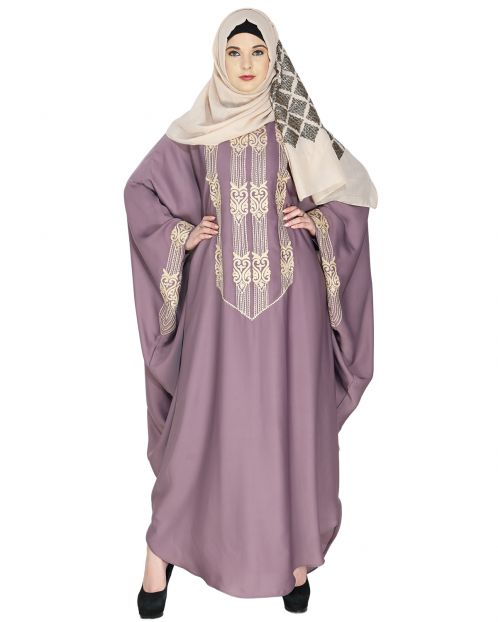 Majestic Light Orchid Formal Kaftan