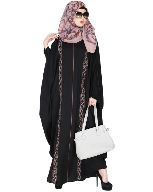 Ravishing Black Kaftan