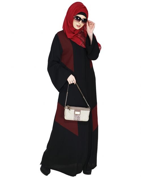 Modest Umber Brown Abaya