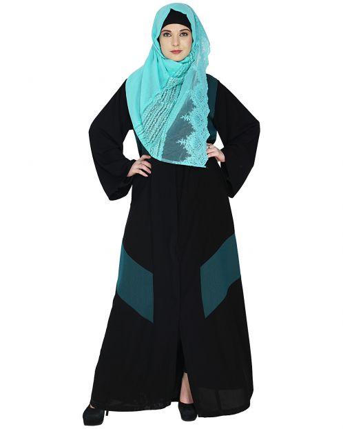 Modest Green Abaaya