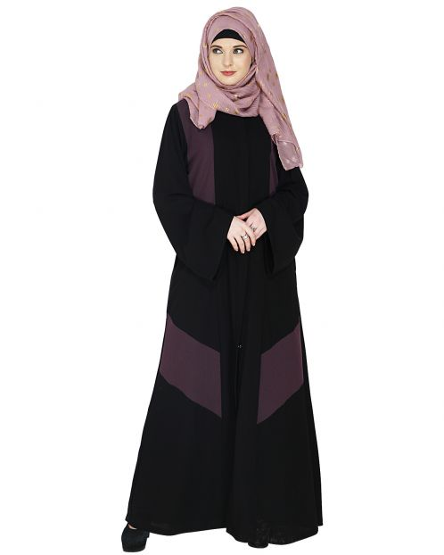 Modest Purple Abaya