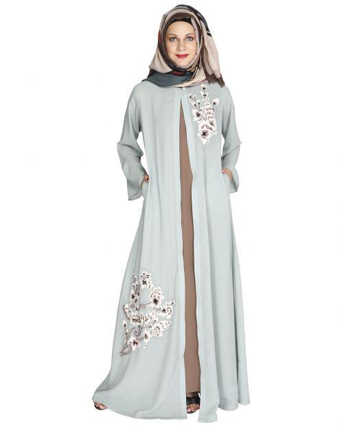 Beckon Jacket Style Abaya