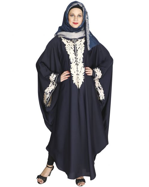 Aesthetically Elegent Blue Kaftan