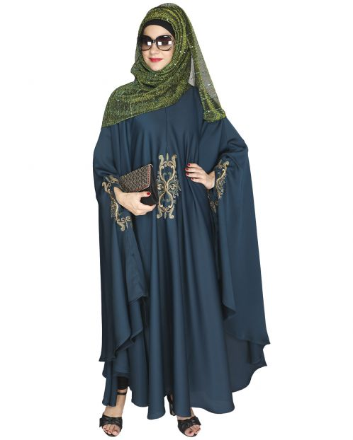 Bottle Green Irani Kaftan