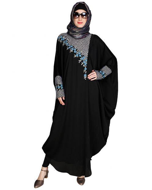 Luxury Black Kaftan