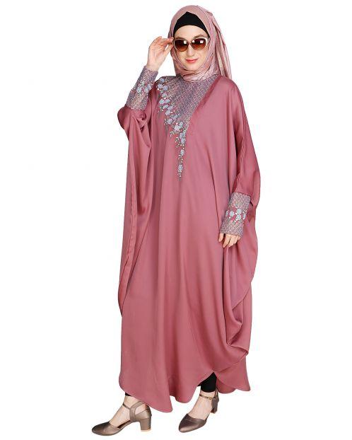 Luxury Onion Pink Kaftan