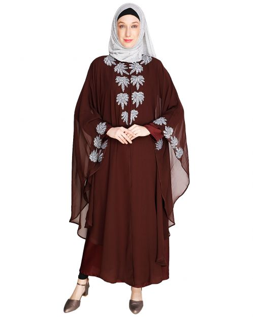 Sequence Enriched Wine Kaftan