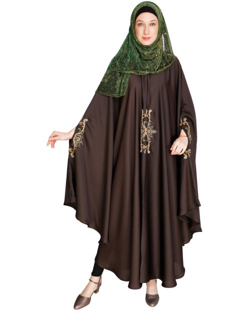 Dark Brown Irani Kaftan