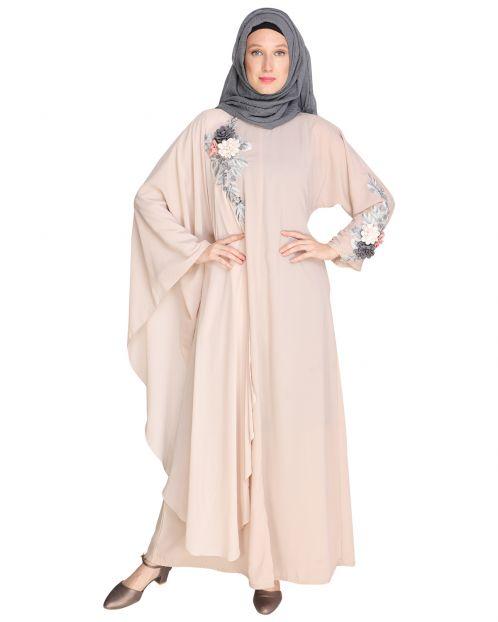 Awe Inspiring Beige Abaya