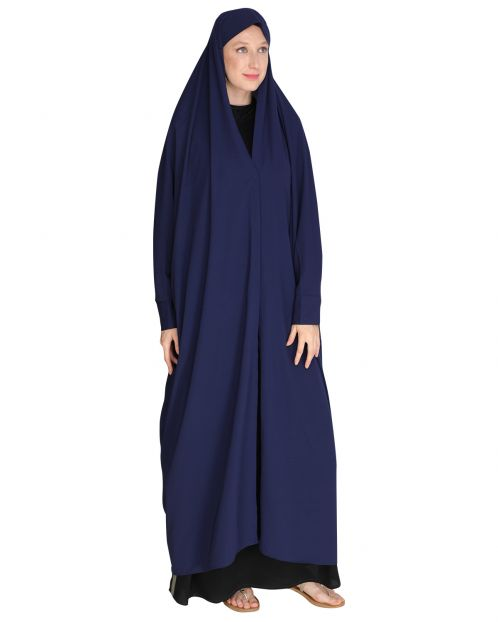Solid Blue Iraqi Chaddar
