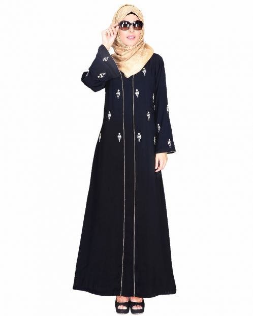 Crystal Embellished Abaya