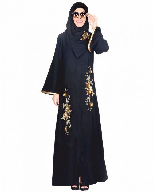 Beautiful Hand Embroidered Abaya