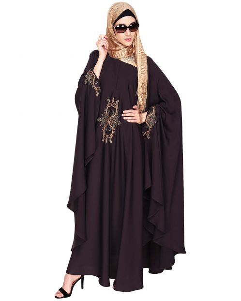 Dark Purple Irani Kaftan